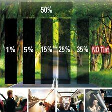 "2PLY 20"" X 10FT 15% VLT Black Gray Car Glass Window TINT Film Vinyl Roll NT5"