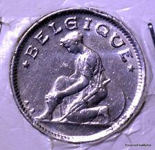 Belgique / Belgium 50 centimes 1927 nickel  KM#87 AC67