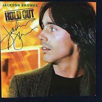 Jackson Browne Hold Out Signed Autograph Record Album JSA Vinyl