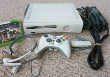 Microsoft Xbox 360 60GB HDD Console w/ Controller, Wireless Adapter, 1 Game