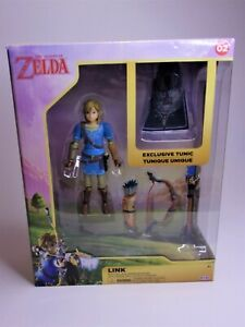 The Legend of Zelda: Breath of the Wild Link Action Figure New