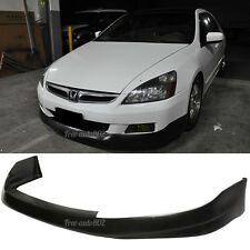 Fit For 06-07 Honda Accord Coupe HFP Style PU Front Bumper Lip Poly Urethane