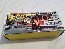 VINTAGE San Francisco California CABLE CAR Toy Souvenir w/ Original Box