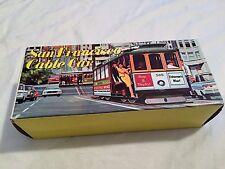 VINTAGE San Francisco California CABLE CAR Toy Souvenir w/ Original Box