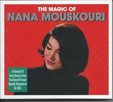 Nana Mouskouri - The Magic Of - Best Of / Greatest Hits 2CD NEW/SEALED