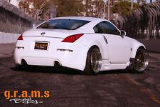 Nissan 350Z Carbon Fiber Aero Side Diverters for Performance, any Side Skirts V6