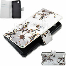 Stand Folding Wallet Magnetic Leather Cover Case For Sony Xperia Z1 Compact Mini