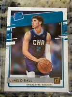 2020-21 Donruss Rated Rookie LaMelo Ball RC Charlotte Hornets