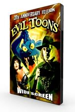 Evil Toons: 20th Anniversary Edition - Necronomicon - David Carradine - Rare DVD