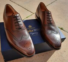 MENS LOAKE ETTRICK 1880 LEATHER SHOES - SIZE UK 11 RRP £240