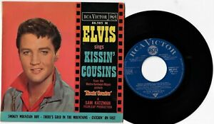 Elvis Presley - Kissin' Cousins - 7'EP Vinyl 45t Rca Victor 86.393