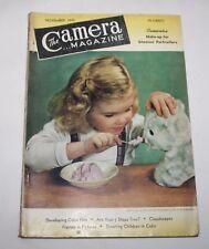 La Cámara Magazine, noviembre de 1949-Make-up para el retrato de glamour