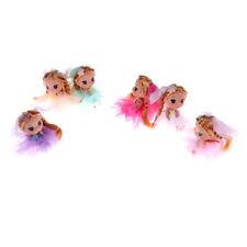 P&T 12cm Confused Doll Wedding Dolls vinyl toy creative  Keychain Kid toy