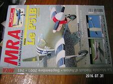 1µ?§ Revue MRA n°741 Plan encarté Morane Saulnier 1500 Epervier / P51B Bolkow