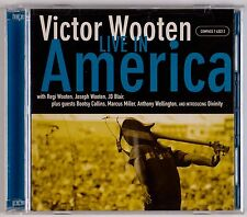 VICTOR WOOTEN: Live in America 2001 Compass Jazz Funk CD 2xCD