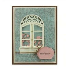 Window Frame Metal Cutting Dies Stencils Scrapbooking Embossing Die Paper Cards