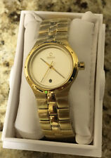 OBAKU HARMONY LADIES QUARTZ WATCH NEW GOLD TONE GT DIAL STAINLESS V111LGGSG