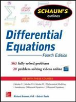 Differential Equations by Richard Bronson and Gabriel Costa (2014, Paperback)