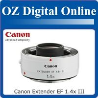 New Canon Extender EF 1.4x III For EOS 60D 7D 5D 1 Year Au Wty