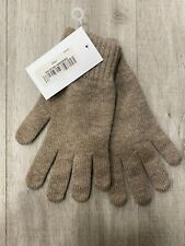 Men's Pure Cashmere Gloves | Johnstons of Elgin | Made in Scotland | Otter