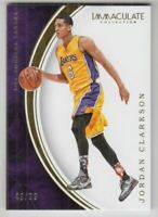 2015-16 Immaculate Collection #46 Jordan Clarkson /99