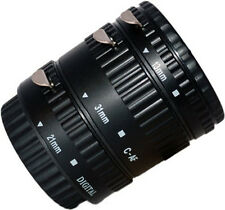 INSEESI Plastic AF-B Auto Focus Macro Extension Tube for CANON EOS EF EF-S