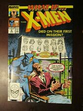 WHAT IF #19 JANUARY 1990 NM NEAR MINT 9.4 9.6 X-MEN DIED ON THEIR FIRST MISSION