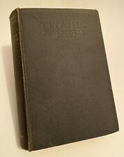 More details for titanic and other ships lightoller  white star line rms history ship book signed