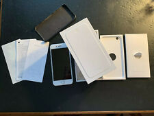Apple iPhone 6 - 64Gb Silver (At&T) A1549: Box Leather Cover No Sim Card