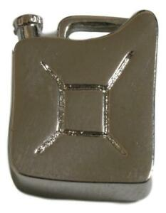 Jerry Can English Pewter Pin Badge in Pouch Ideal Present 451