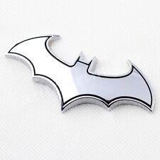 Chrome Bat Badge Emblem Symbol Decoration 3D Decal Sticker Car Motors Accessory