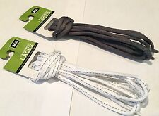 Quality REI Shoe Laces 48-Inch Waterproof 5 Sets in 2 Colors - No Cheap Laces