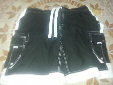 Men's Black Mossimo Supply Co. Shorts/Swimsuit in One (Size: XL)