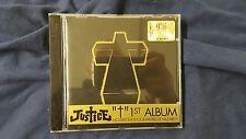 THE JUSTICE - JUSTICE CROSS 1ST ALBUM. CD