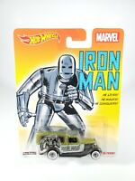 Hot Wheels Marvel Iron Man '34 Dodge Delivery Real Riders NEW NOC Pop Culture