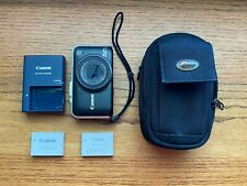 Canon PowerShot SX230 HS 12.1MP Digital Camera - Black - +Case +Extra Battery