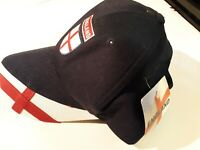 Strapback England Baseball Hat Adult Blue Adjustable Cap NEW