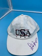 LINDSAY DAVENPORT AUTOGRAPHED HAT 100% AUTHENTIC ONLY HAT WE HAD THAT DAY