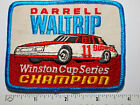 Darrell Waltrip Winston Cup Series Patch  Champion Racing Budweiser