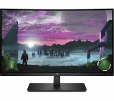 HP 27x 27 Pulgadas FHD Curvo Monitor LED 16:9 relación de ASP, 144Hz Amd freesync HDMI DP