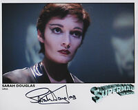 Sarah Douglas SUPERMAN Original Film Signed 10X8 photo autograph COA