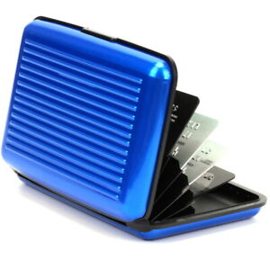 Wallet ID Card Holder Anti-Magnetic Credit Card Case Storage Box Anti-Theft Bag