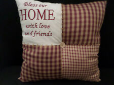 shabby chic country vintage decor cushion  soft furnishings verse