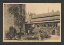 1910s HILDESHEIM DOM KREUZGANG UND 1000 JAHRIGER ROSENSTOCK GERMANY POSTCARD