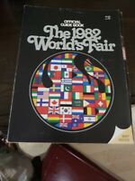 Vintage Old Official Guide Book The 1982 World's Fair Knoxville Tennessee w/ Map