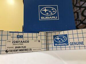 4 Iridium Spark Plug 22401-AA630 ILFR6B for Subaru Baja Forester Impreza Outback