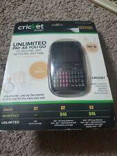 Qwerty Cricket Phone - PayGo - MSGM8