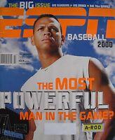 ALEX RODRIGUEZ April 2000 ESPN THE MAGAZINE  Baseball 2000