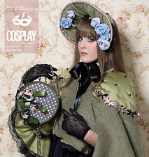 "McCalls Sewing Pattern 2098 COSPLAY ""BECOMING EMELIE"" HAT BAG CAPELET XS-L NEW"