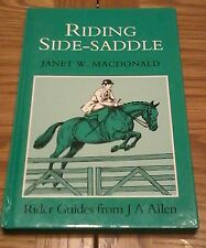 Riding Side Saddle by Janet MacDonald - Rare Horse Riding Book